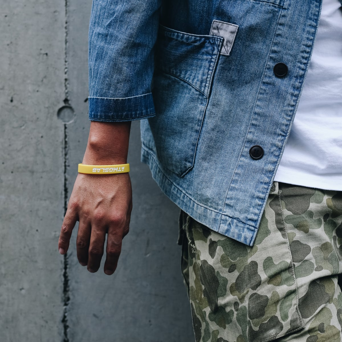 ATMOS LAB SILICON BAND  YELLOW_photo_large