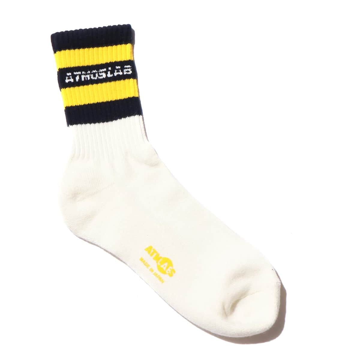 ATMOS LAB LINE SOCKS  YELLOW 18FW-S_photo_large