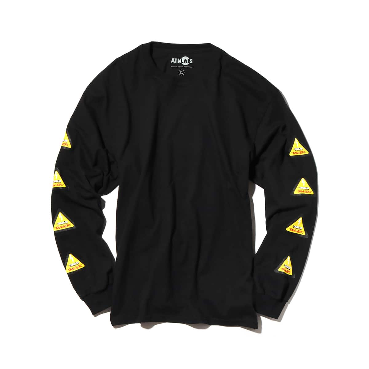ATMOS LAB DANGER LOGO LS TEE  BLACK_photo_large