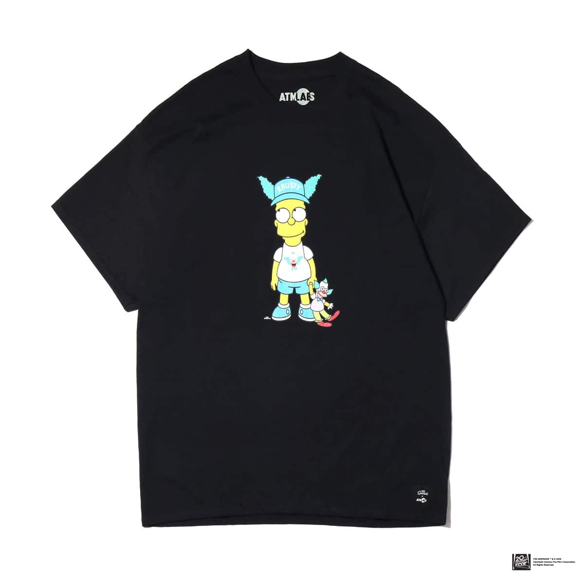 ATMOS LAB THE SIMPSONS x ATMOS LAB BART TEE  BLACK_photo_large