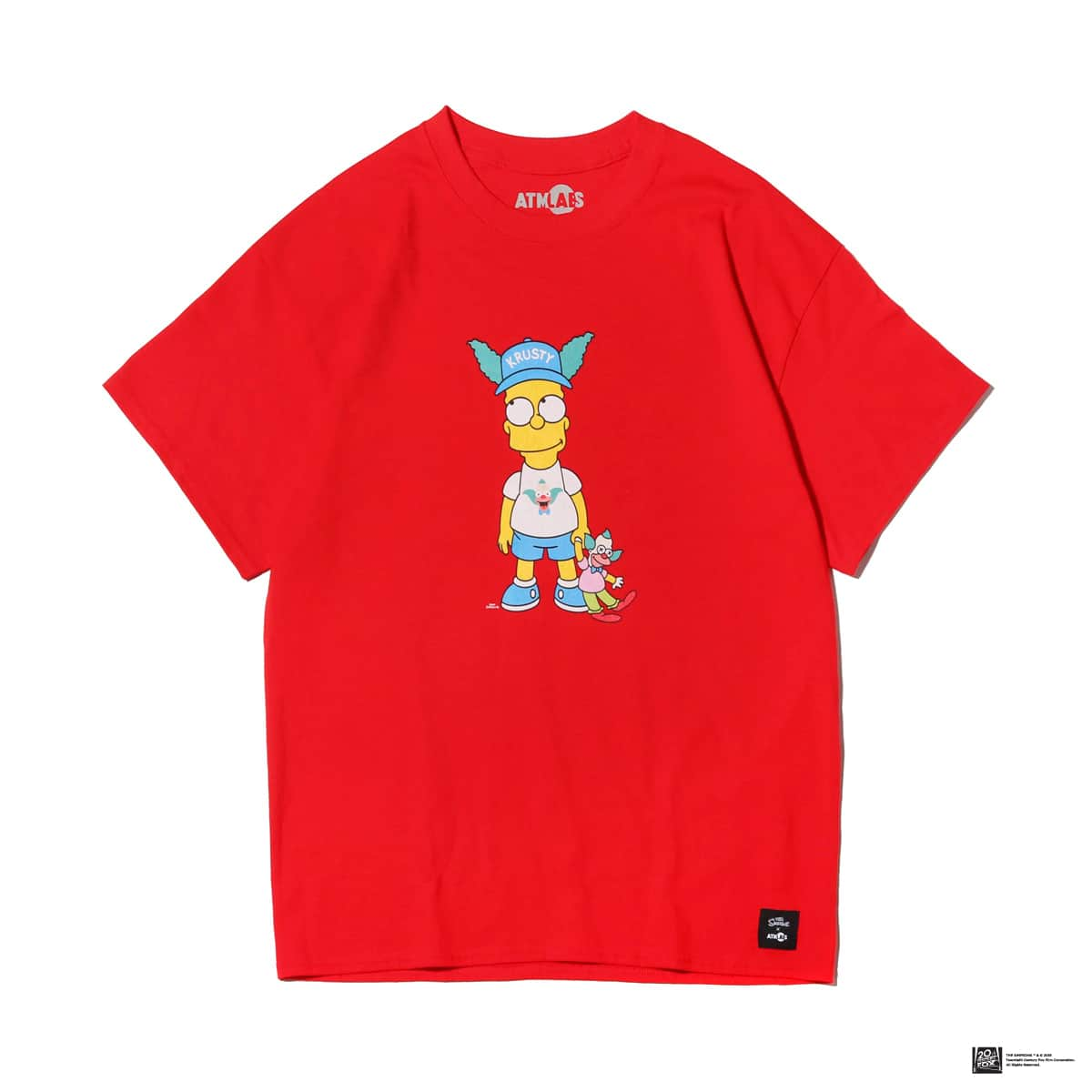ATMOS LAB THE SIMPSONS x ATMOS LAB BART TEE  RED_photo_large