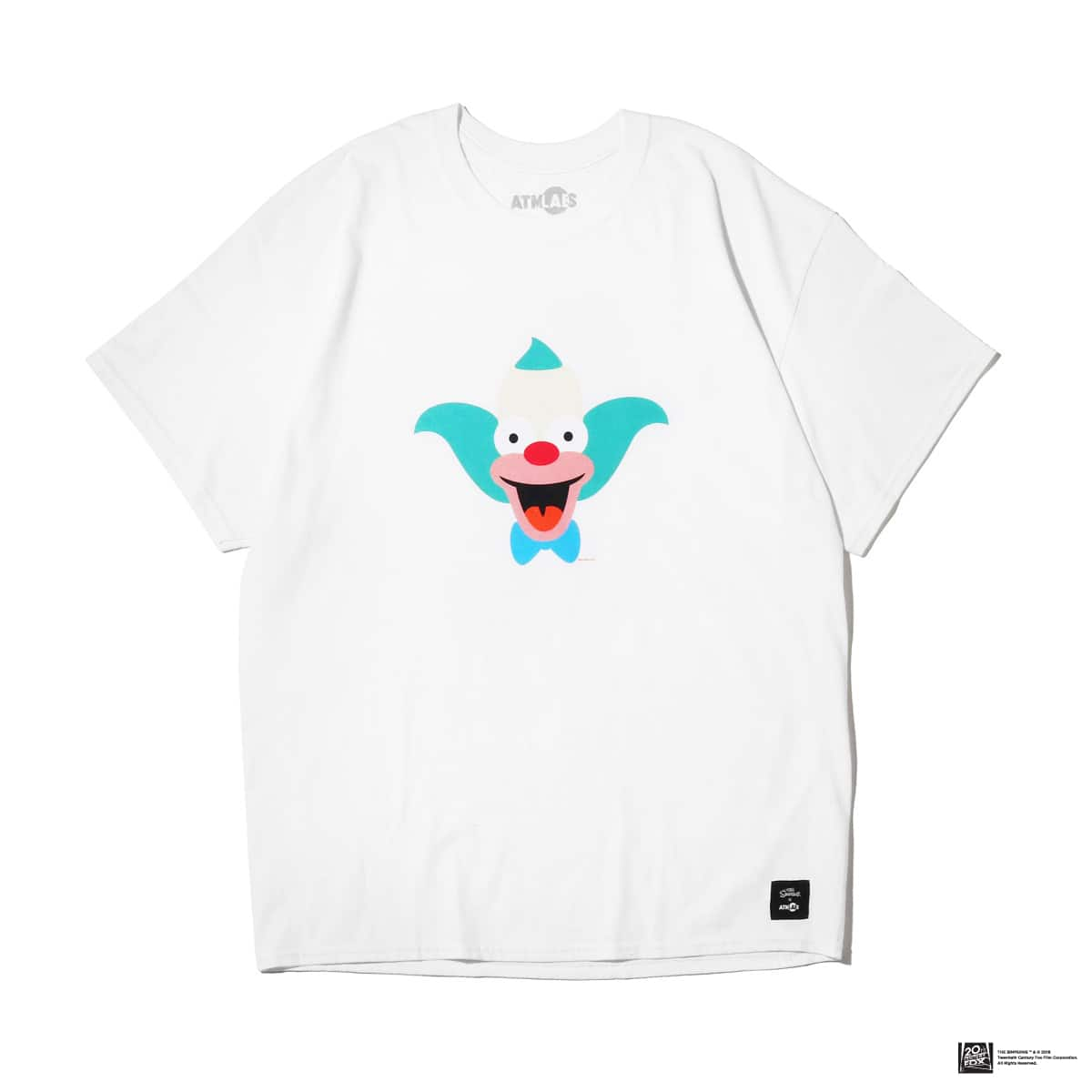 ATMOS LAB THE SIMPSONS x ATMOS LAB KRUSTY TEE  WHITE_photo_large