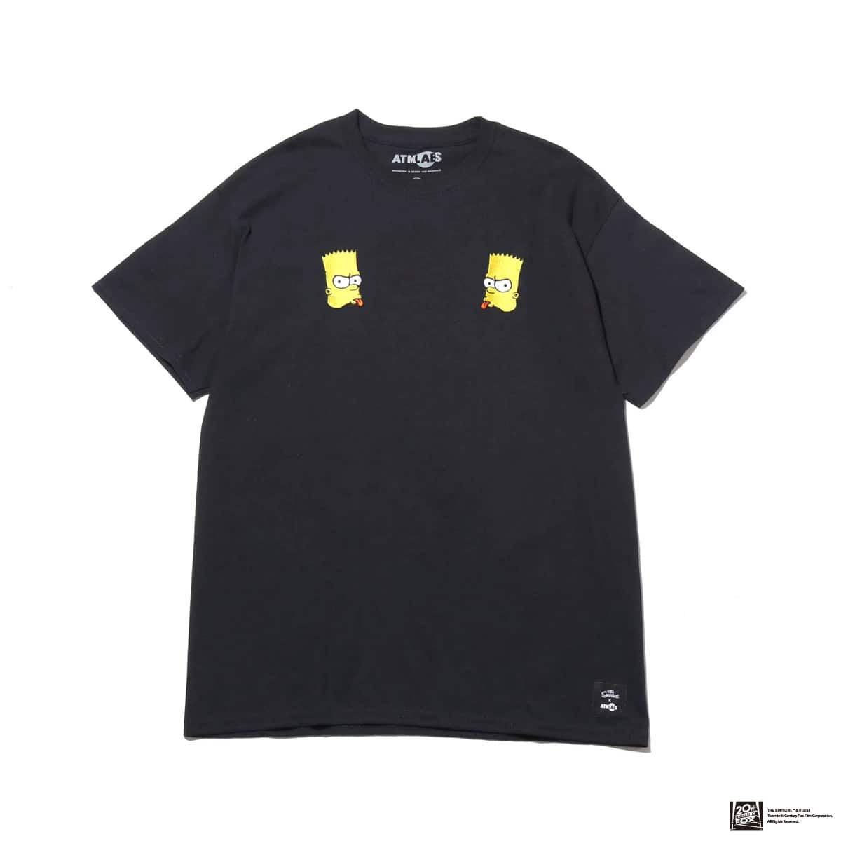 THE SIMPSONS x ATMOS LAB BART EMBROIDERY TEE  BLACK 18FW-I_photo_large
