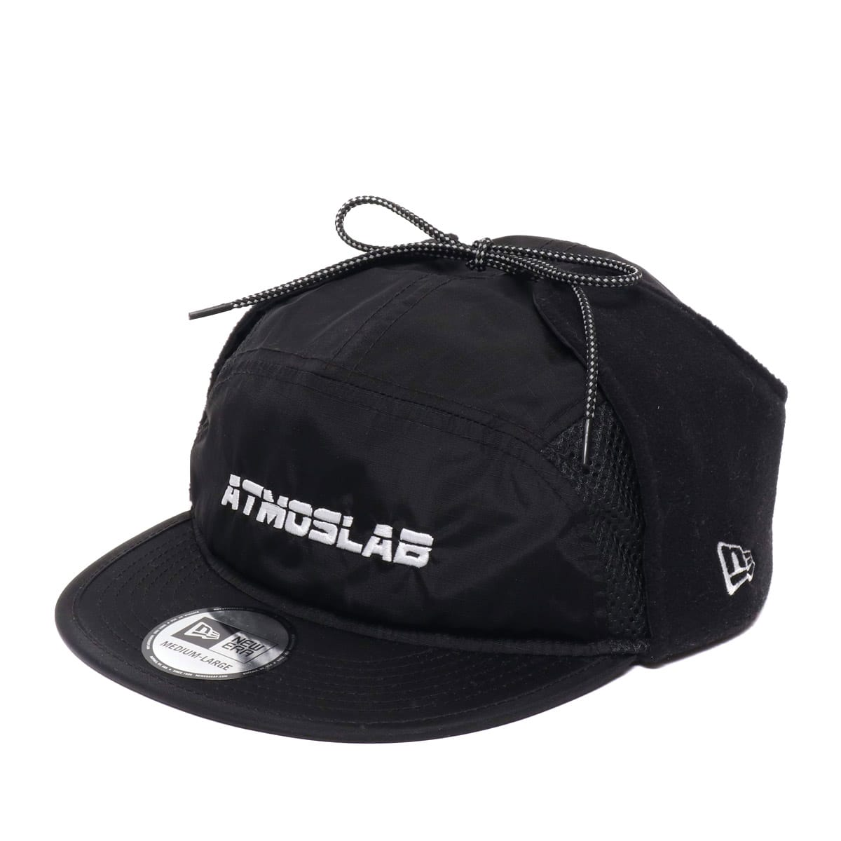 ATMOS LAB NEWERA CAMPER DOG EAR  BLACK 18FW-S_photo_large