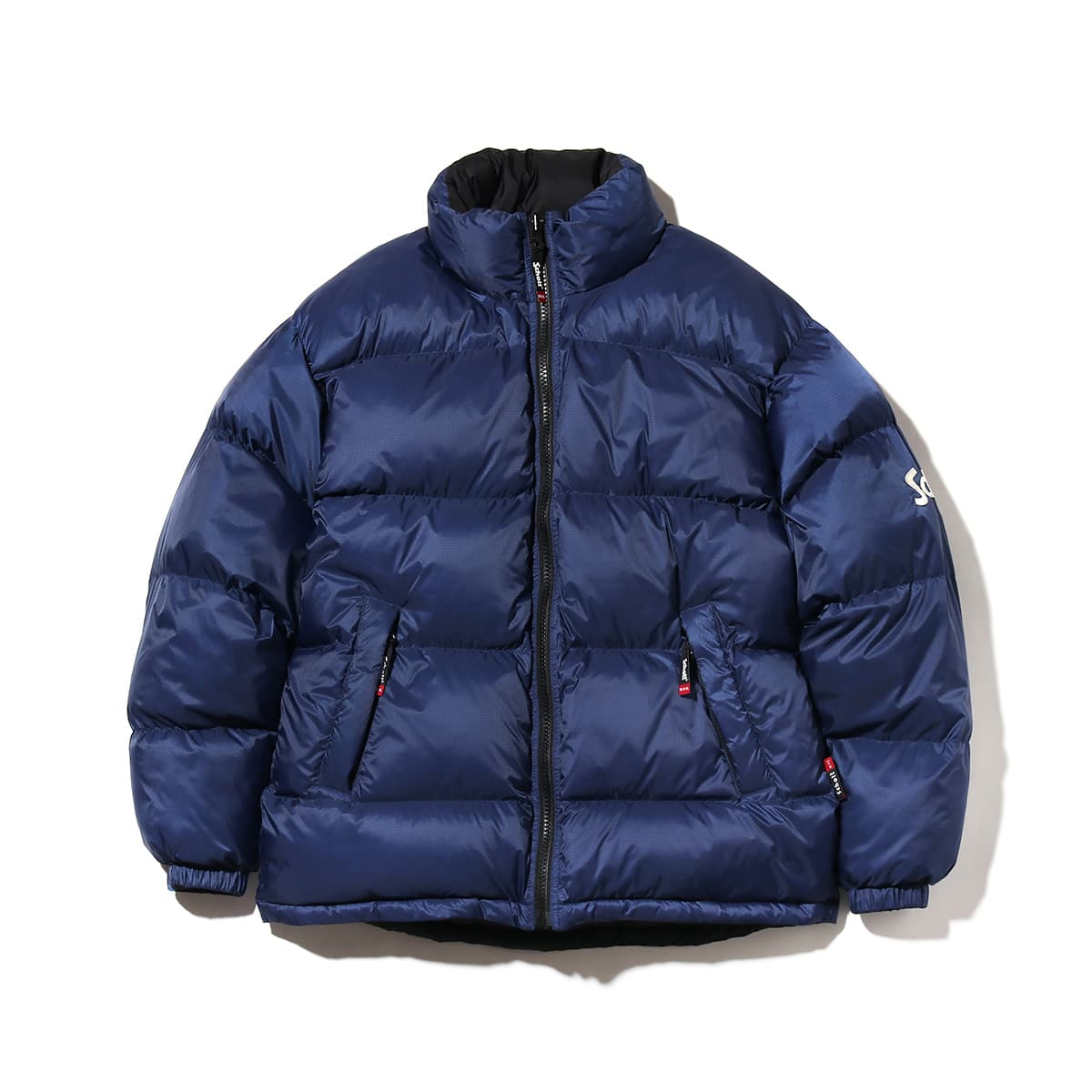 SCHOTT x ATMOS LAB REVERSIBLE DOWN JACKET  BLUE 18FW-S_photo_large