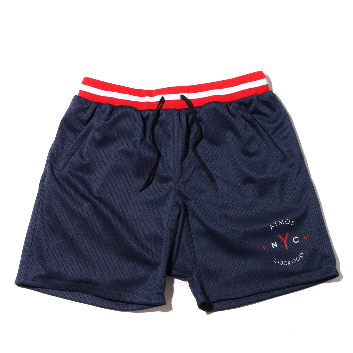 ATMOS LAB MESH SARROUEL SHORT  NAVY_photo_large