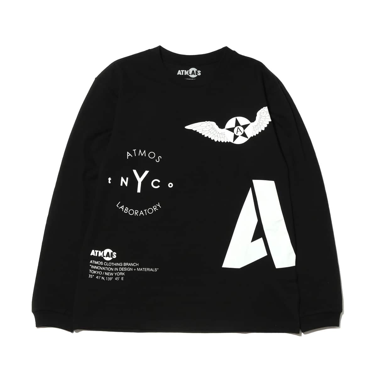 ATMOS LAB ARCHIVE LS TEE  BLACK_photo_large