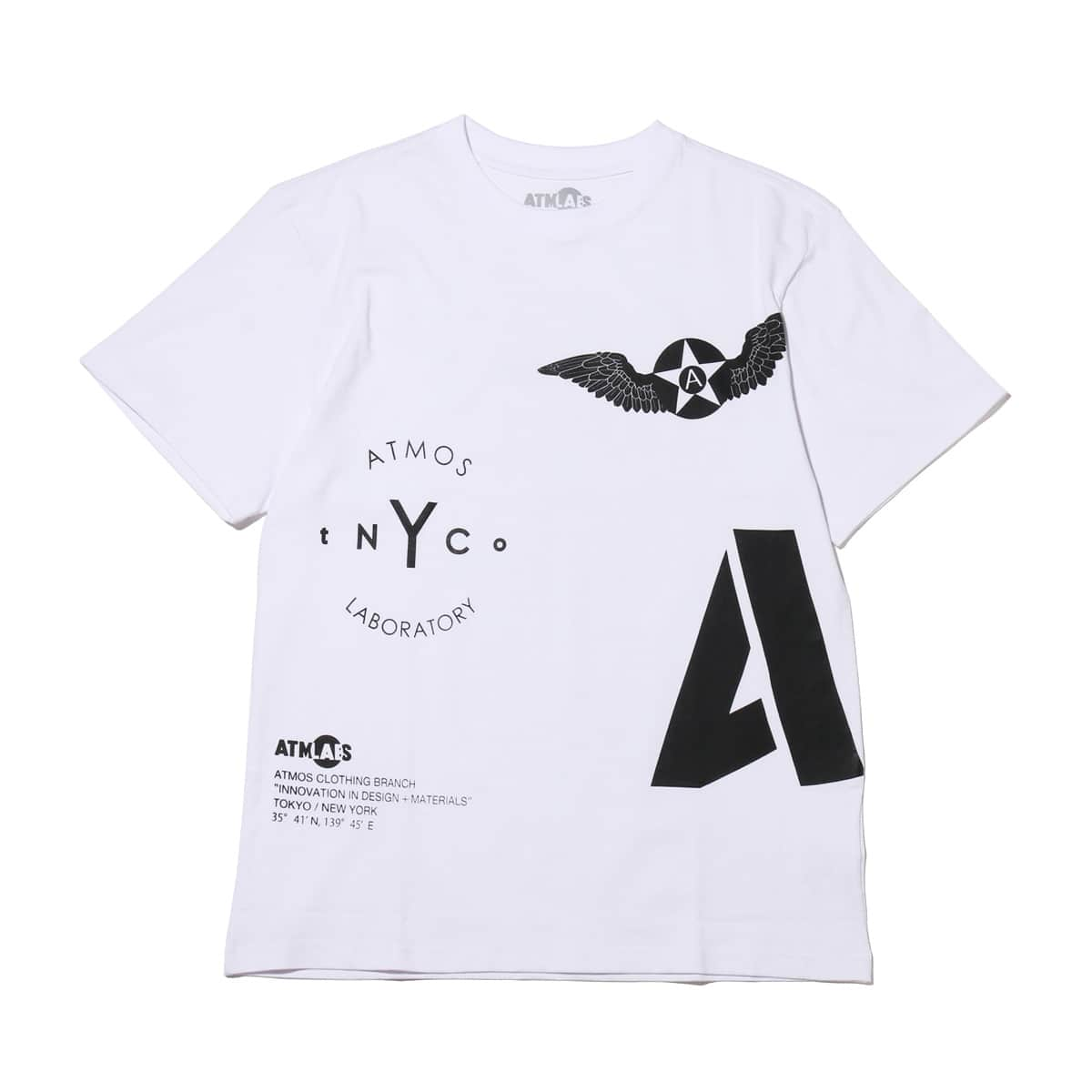 ATMOS LAB ARCHIVE TEE  WHITE_photo_large