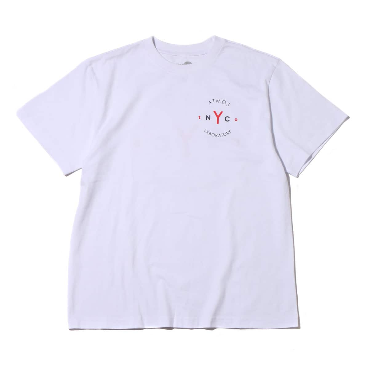 ATMOS LAB tNYCo TEE  WHITE_photo_large