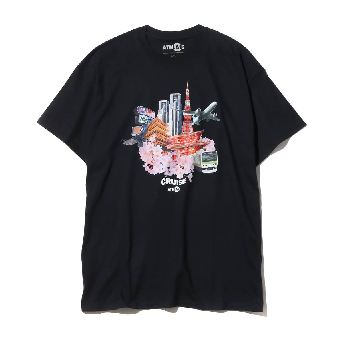 ATMOS LAB CRUISE TEE  BLACK_photo_large