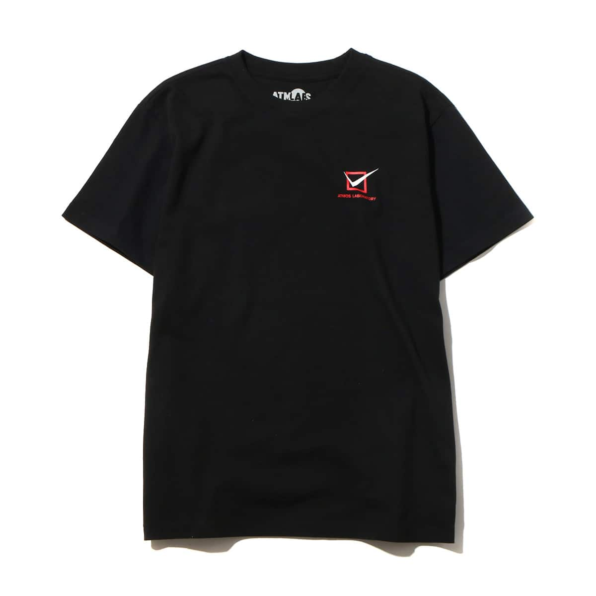 ATMOS LAB CUTTING EDGE TEE  BLACK_photo_large