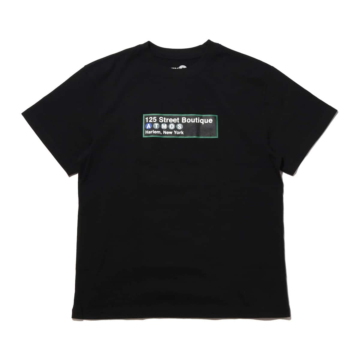 ATMOS LAB SUBWAY TEE  BLACK_photo_large