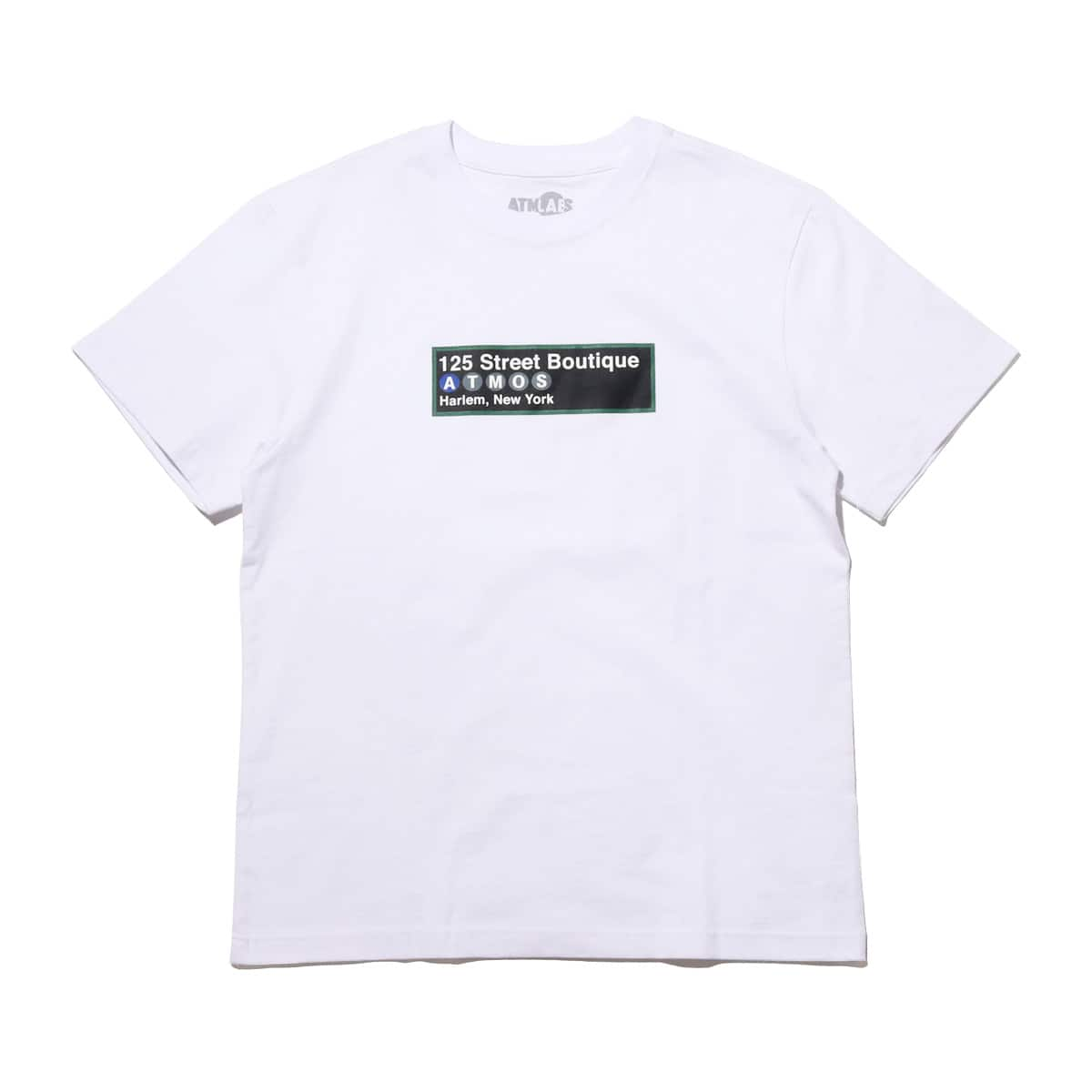 ATMOS LAB SUBWAY TEE  WHITE_photo_large