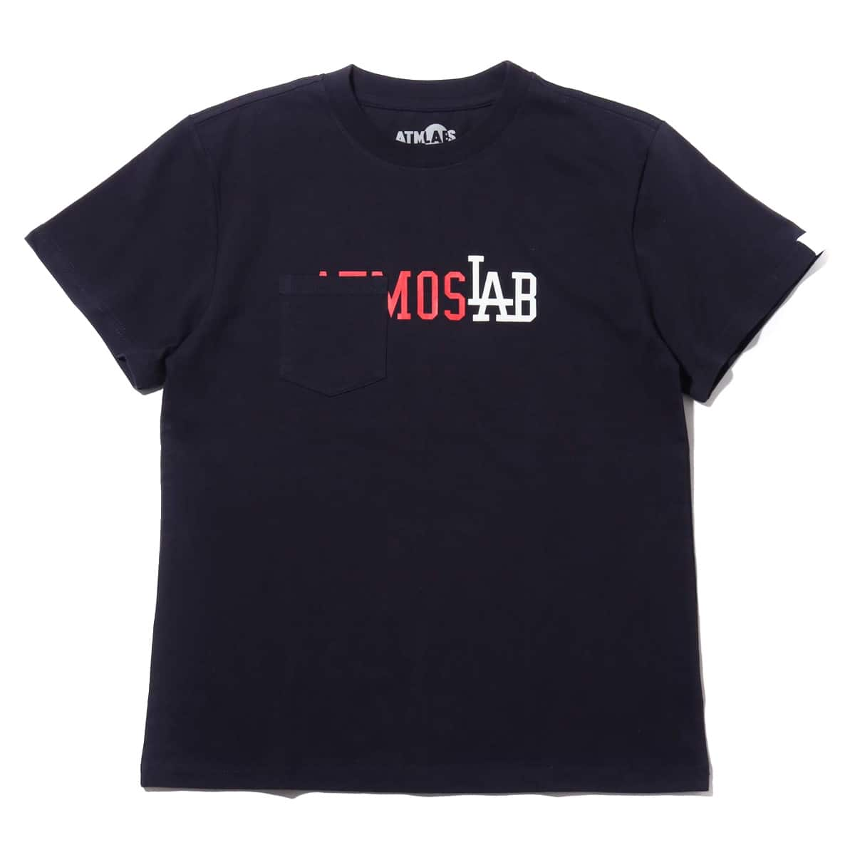 ATMOS LAB POCKET TEE  NAVY_photo_large
