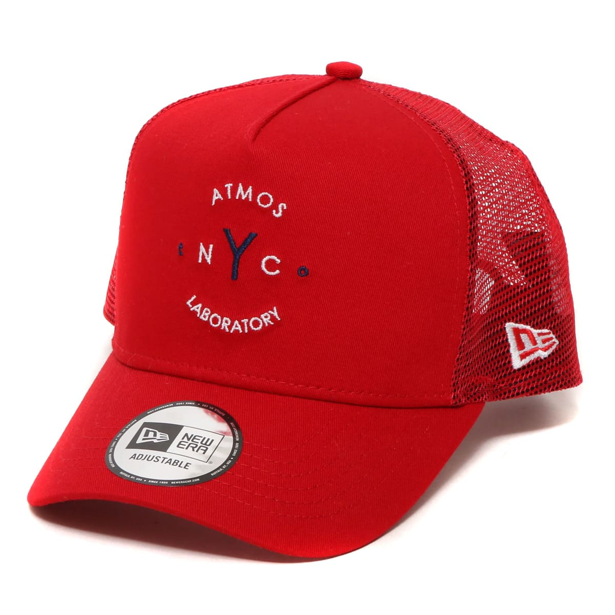 ATMOS LAB NewEra x ATMOS LAB 9FORTY D-Frame Trucker  SCARLET_photo_large