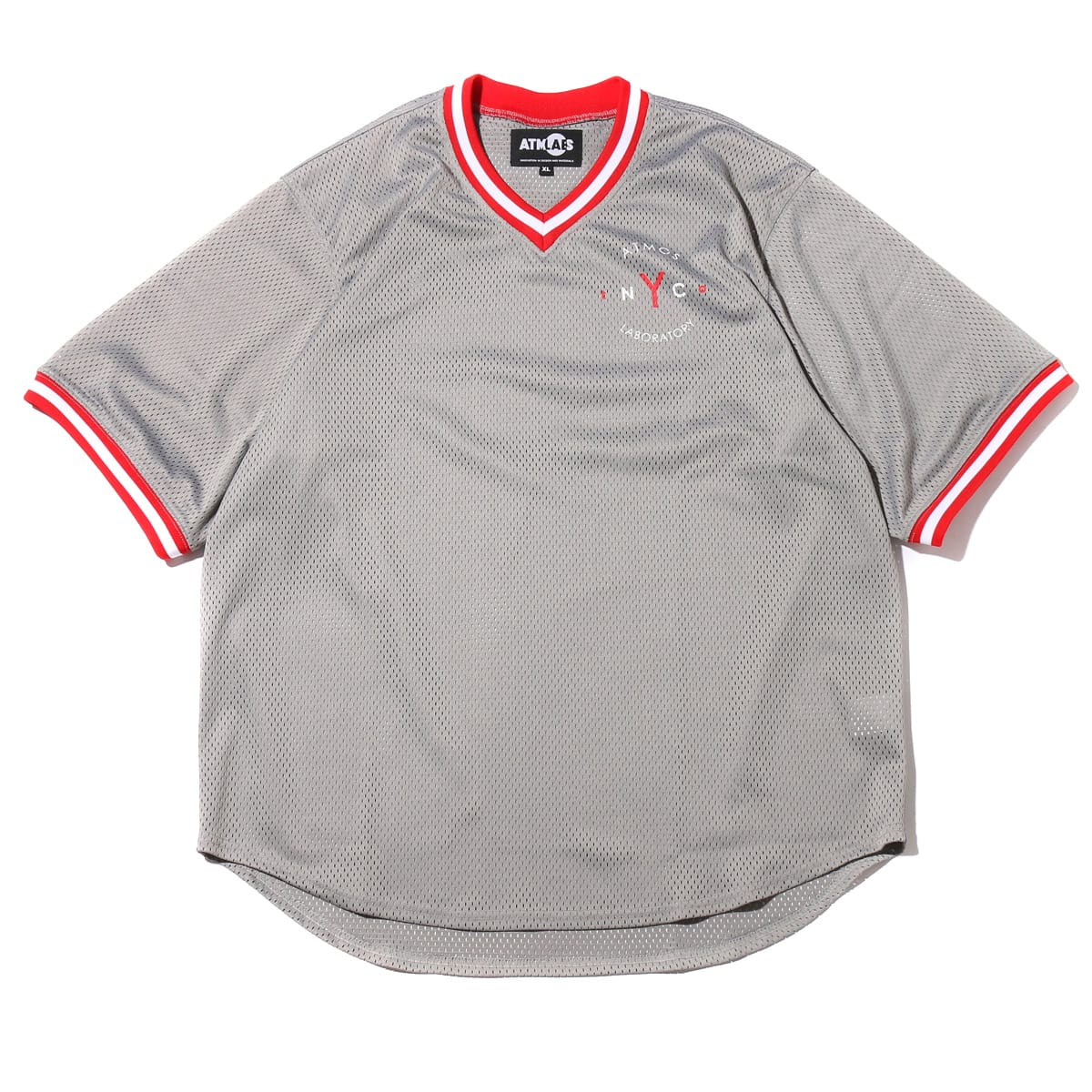 ATMOS LAB MESH SHIRT  GRAY_photo_large