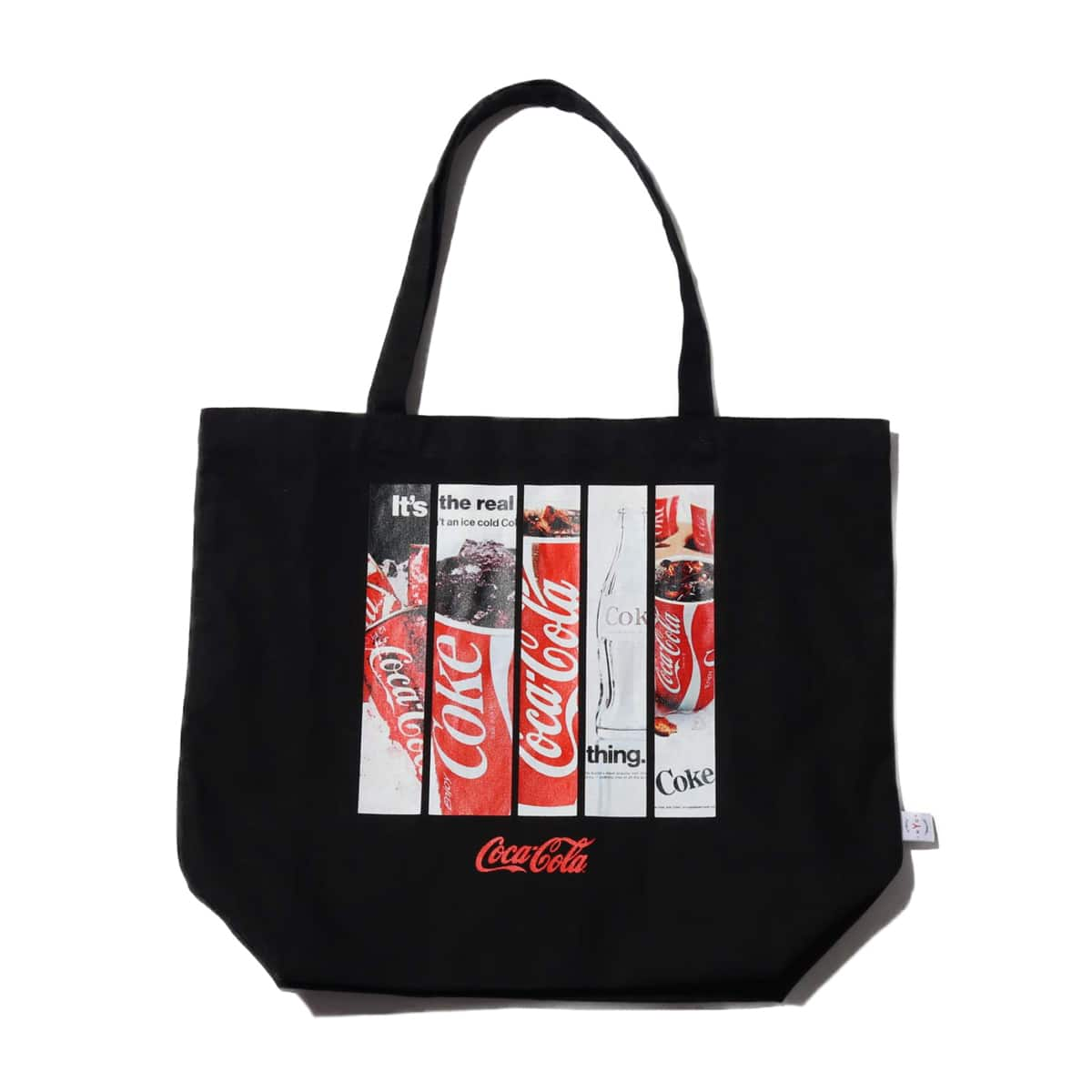 COCA-COLA by ATMOS LAB TOTE BAG BLACK 19FA-S_photo_large