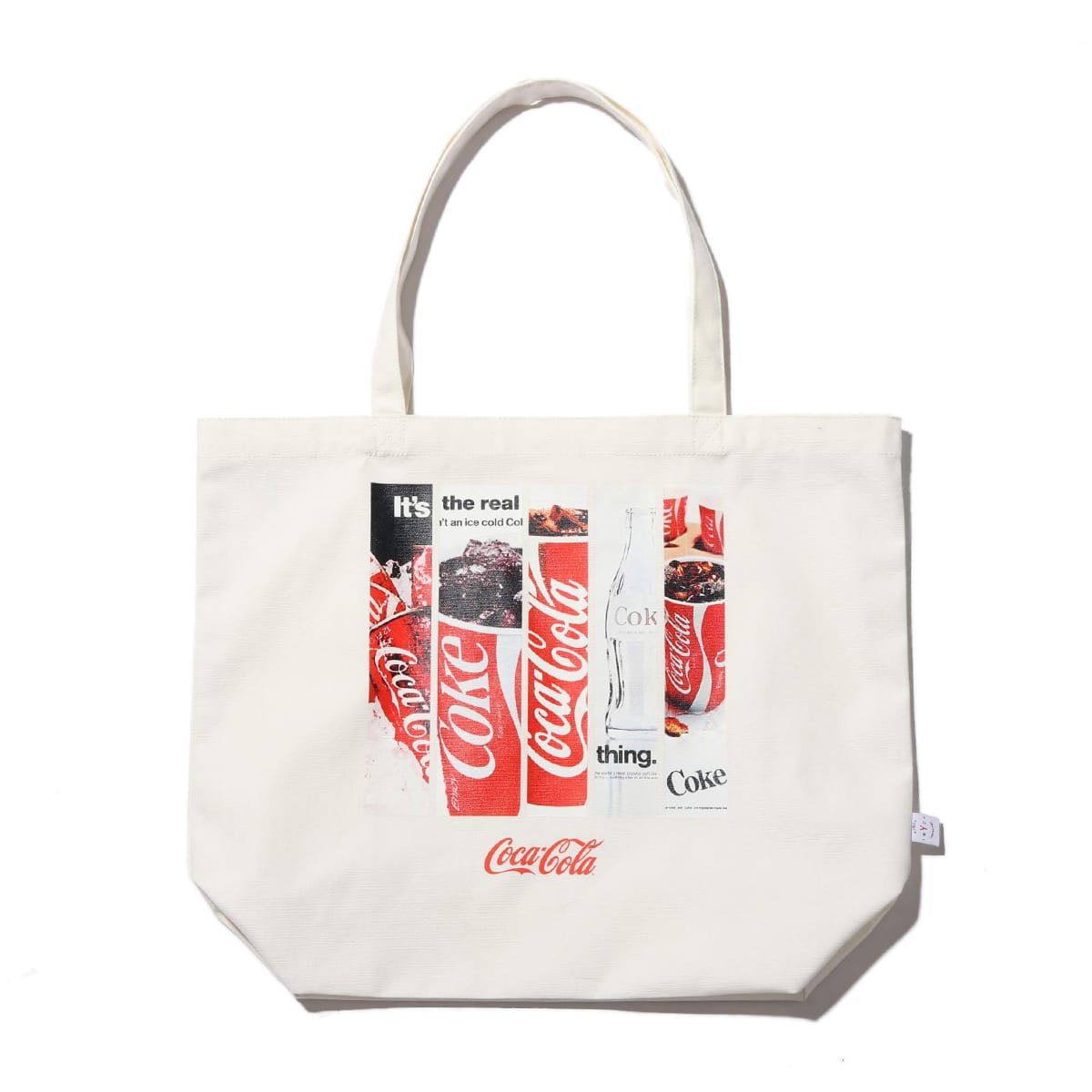 COCA-COLA by ATMOS LAB TOTE BAG WHITE 19FA-S_photo_large