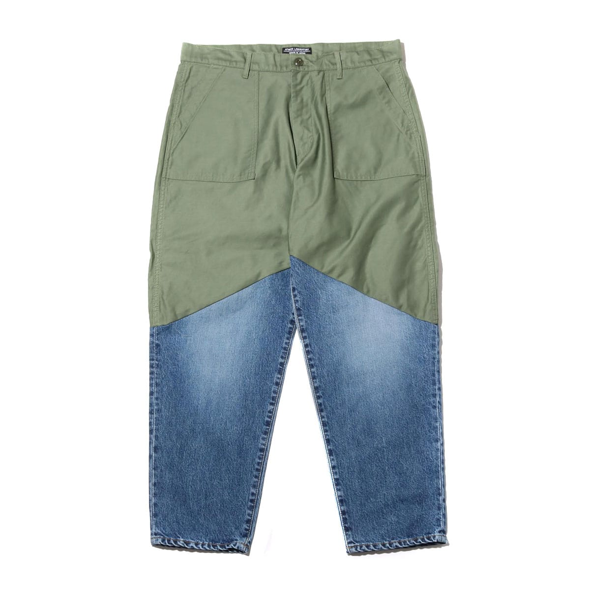 ATMOS LAB SWITCH BAKER PANT OLIVE 19FA-I_photo_large