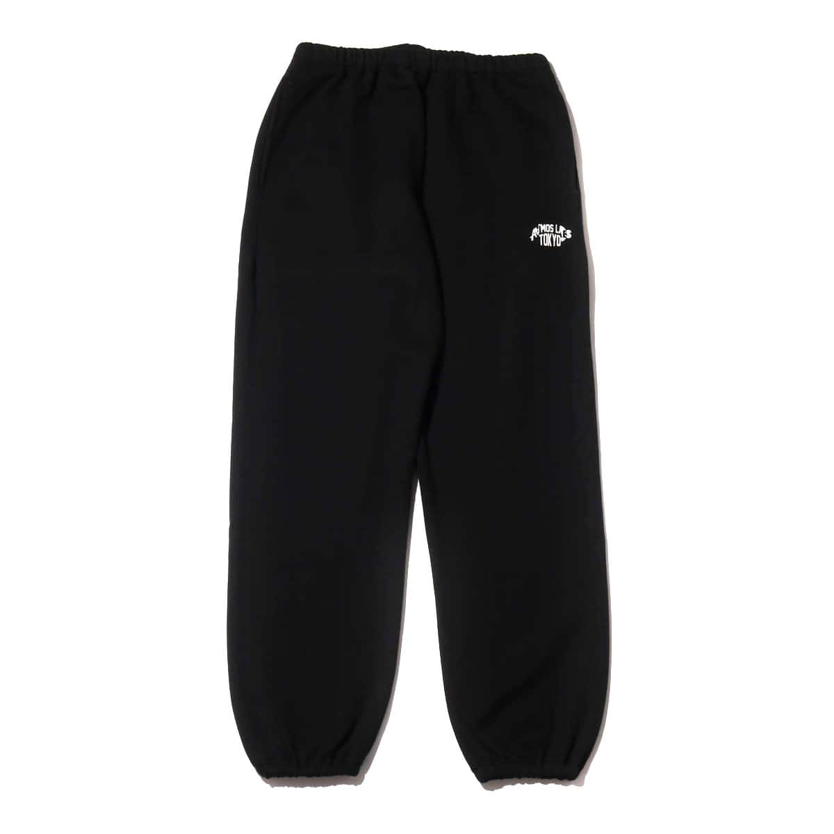 ATMOS LAB SWEAT PANT BLACK 19FA-I_photo_large