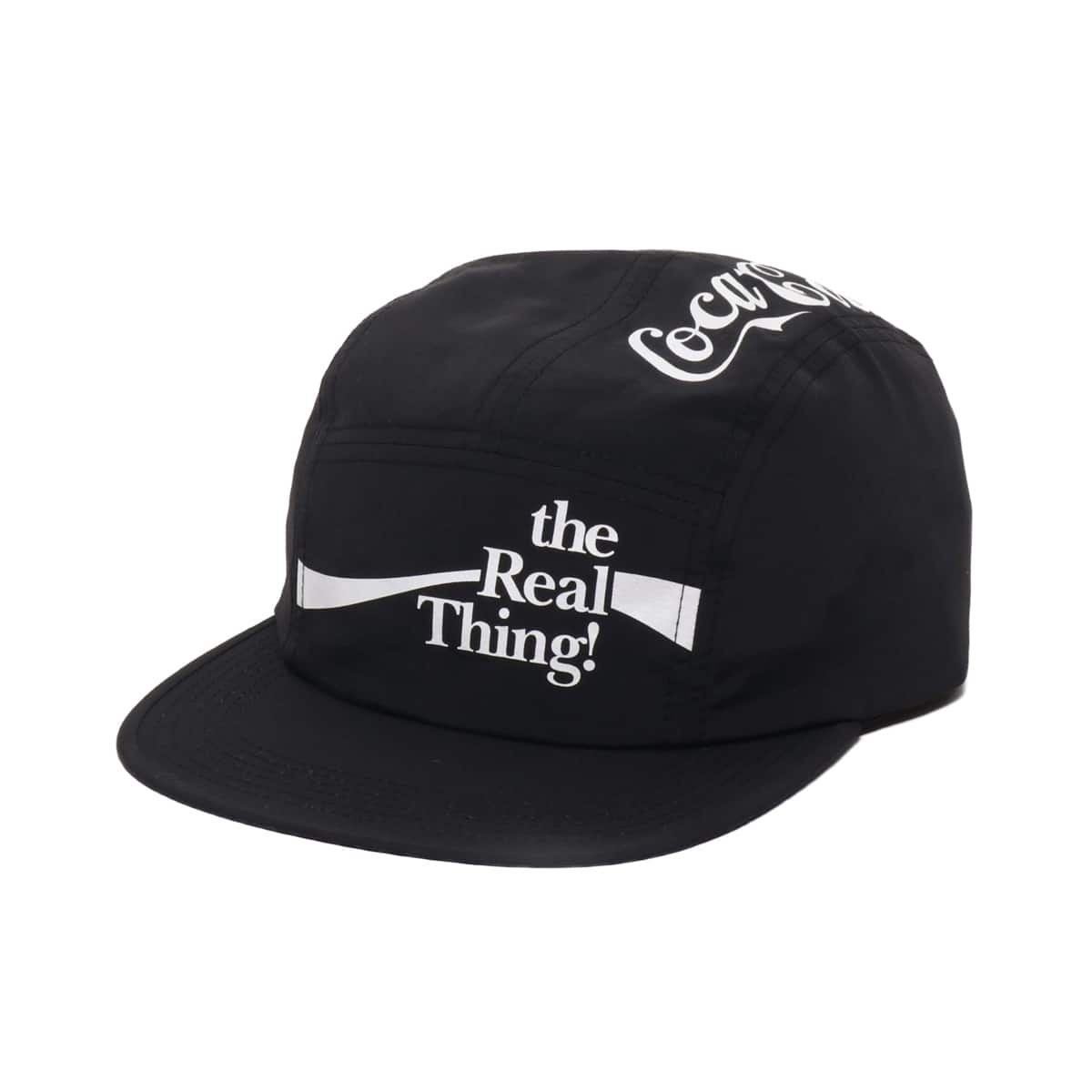 COCA-COLA by ATMOS LAB THE REAL THINGS CAMP CAP BLACK 19FA-S_photo_large