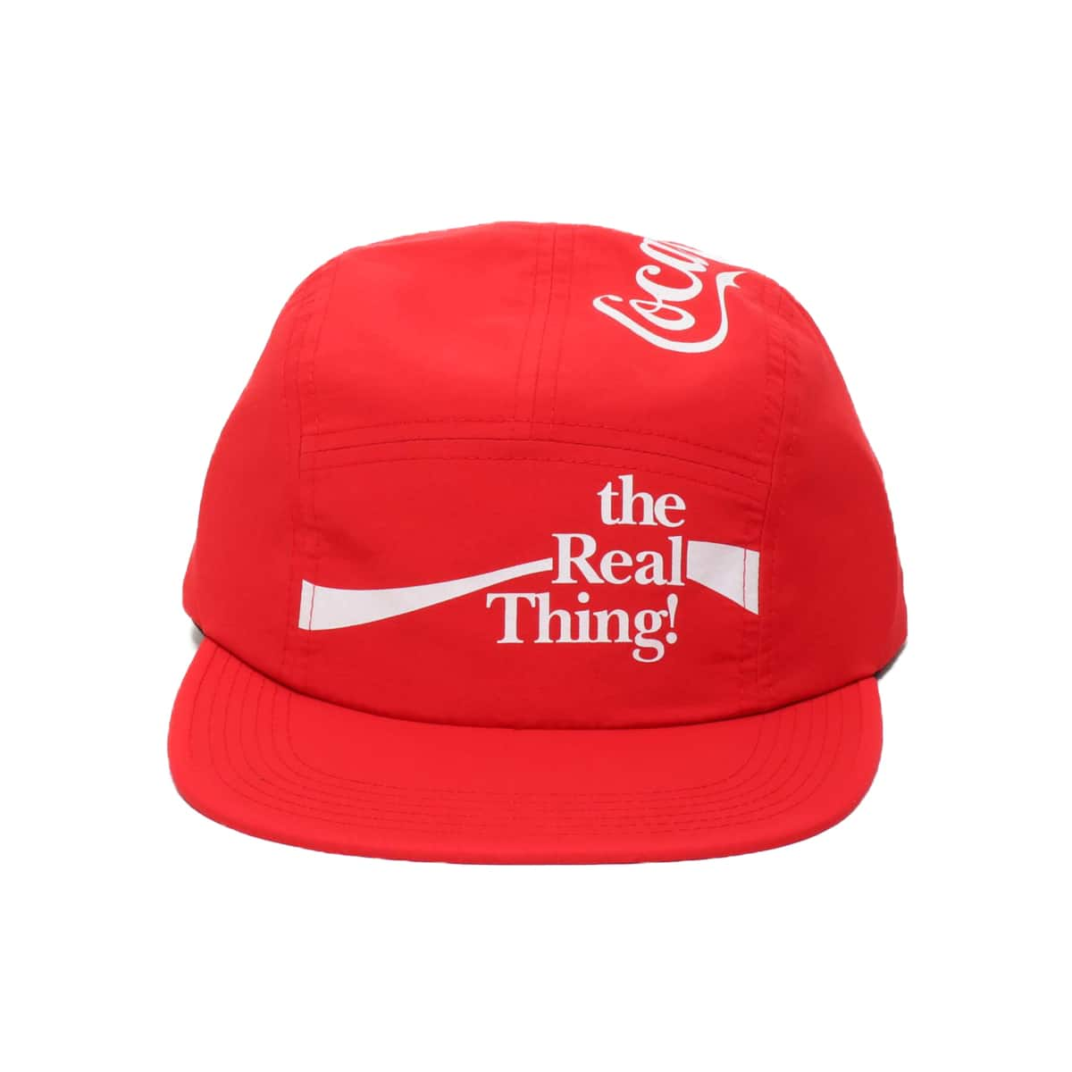COCA-COLA by ATMOS LAB THE REAL THINGS CAMP CAP RED 19FA-S_photo_large