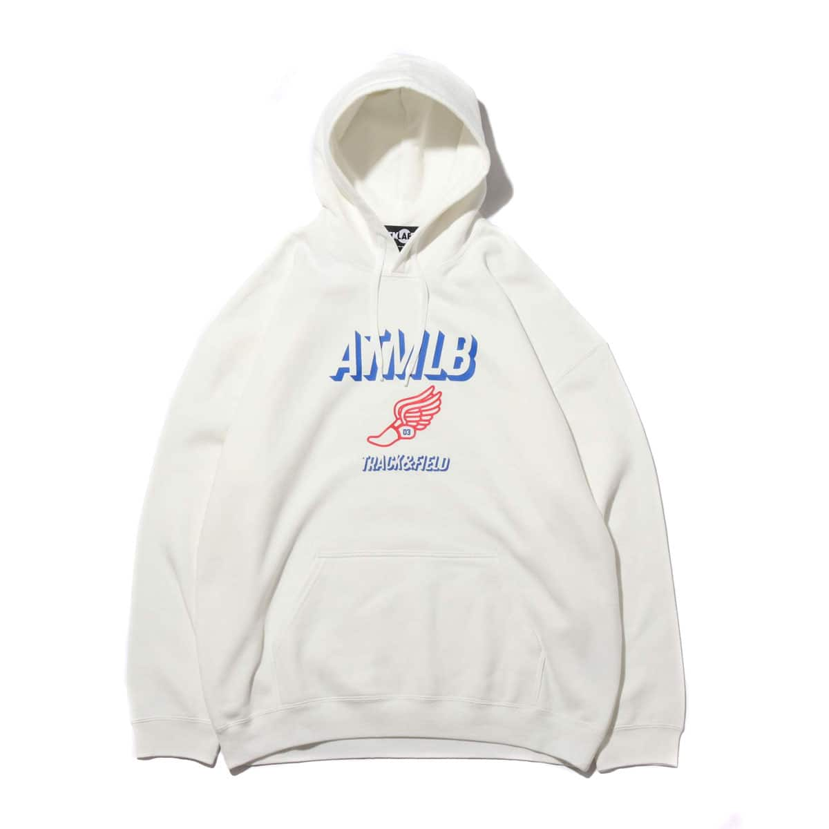ATMOS LAB TRACK & FIELD HOODIE WHITE 19FA-I_photo_large