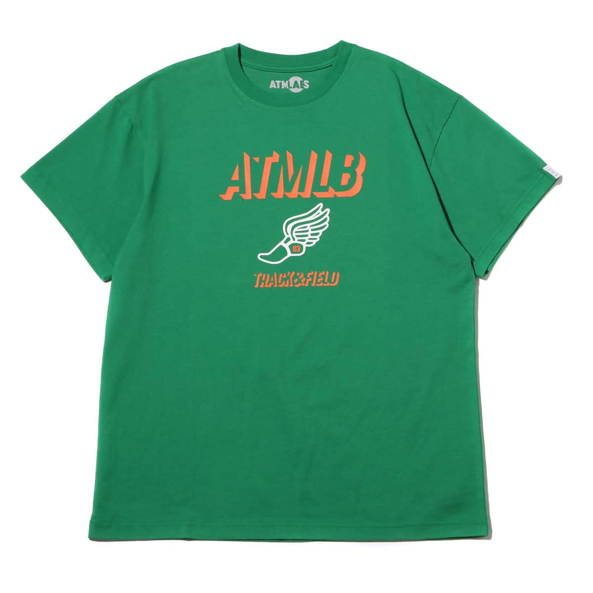 ATMOS LAB TRACK & FIELD TEE GREEN 19FW-I_photo_large