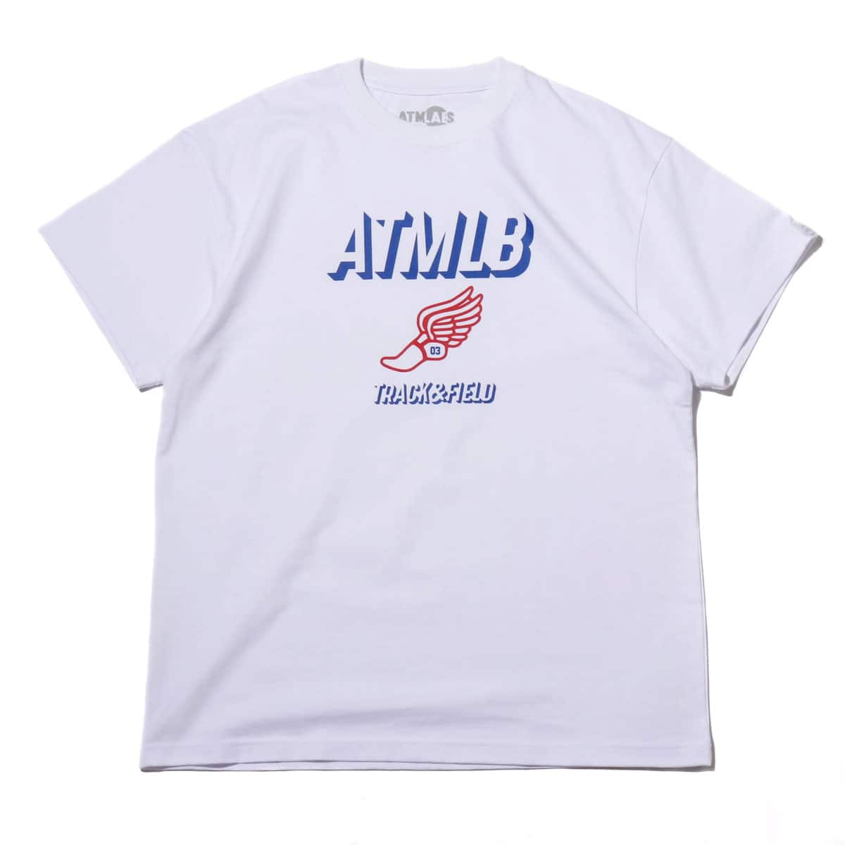 ATMOS LAB TRACK & FIELD TEE WHITE 19FW-I_photo_large