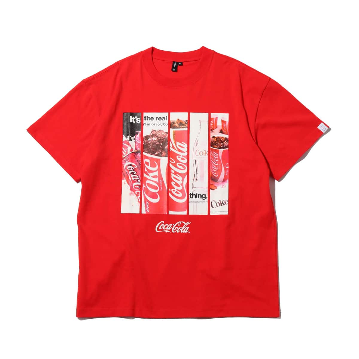 COCA-COLA by ATMOS LAB PANEL PHOTO TEE RED 19FA-S_photo_large