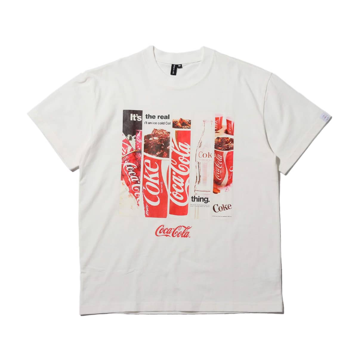 COCA-COLA by ATMOS LAB PANEL PHOTO TEE WHITE 19FA-S_photo_large