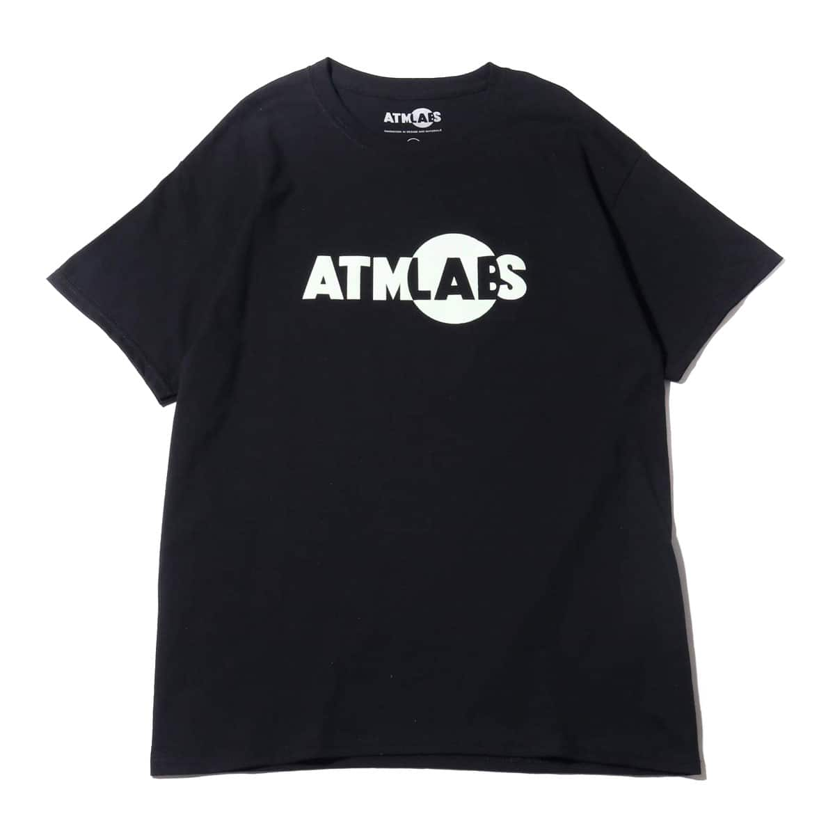 ATMOS LAB LOGO TEE G-SNAKE BLACK 19FW-S_photo_large