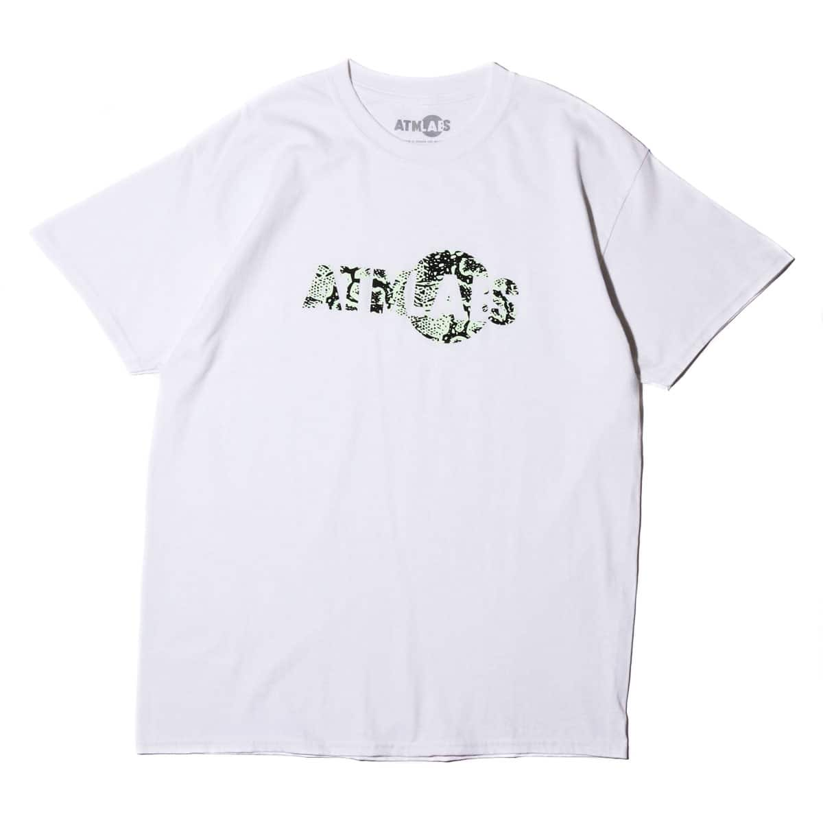 ATMOS LAB LOGO TEE G-SNAKE WHITE 19FW-S_photo_large