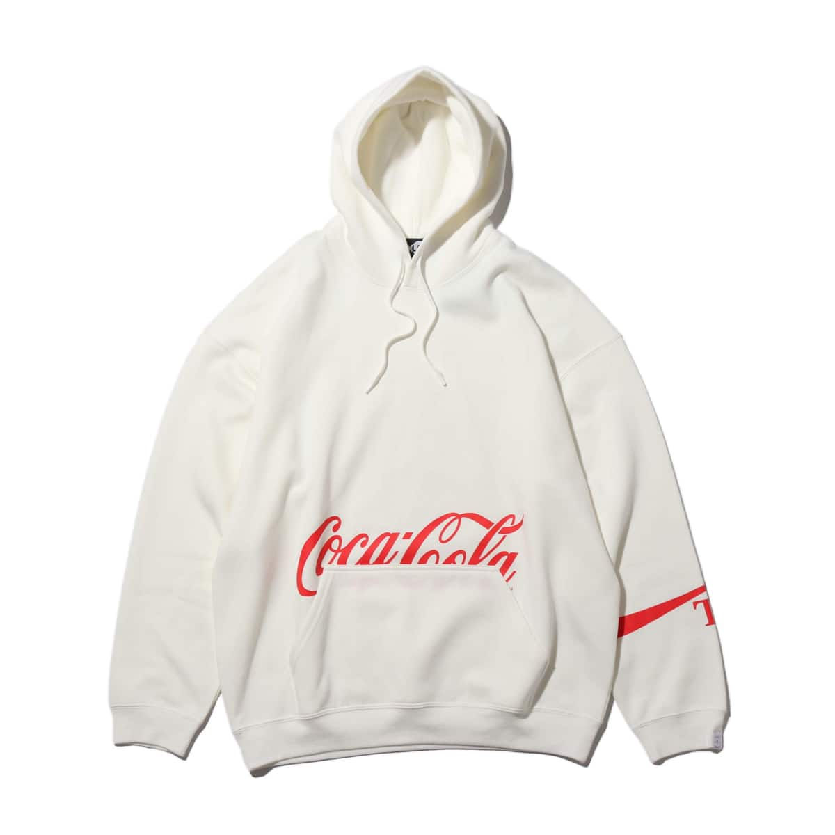 COCA-COLA by ATMOS LAB PANEL PHOTO HOODIE WHITE 19FA-S_photo_large