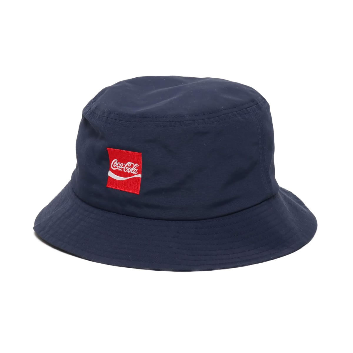 COCA COLA by ATMOS LAB NYLON BUCKET HAT NAVY 19SS-S_photo_large
