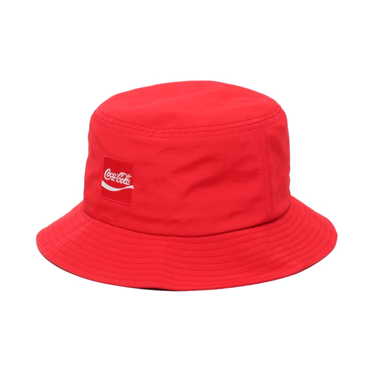 COCA COLA by ATMOS LAB NYLON BUCKET HAT RED 19SS-S_photo_large