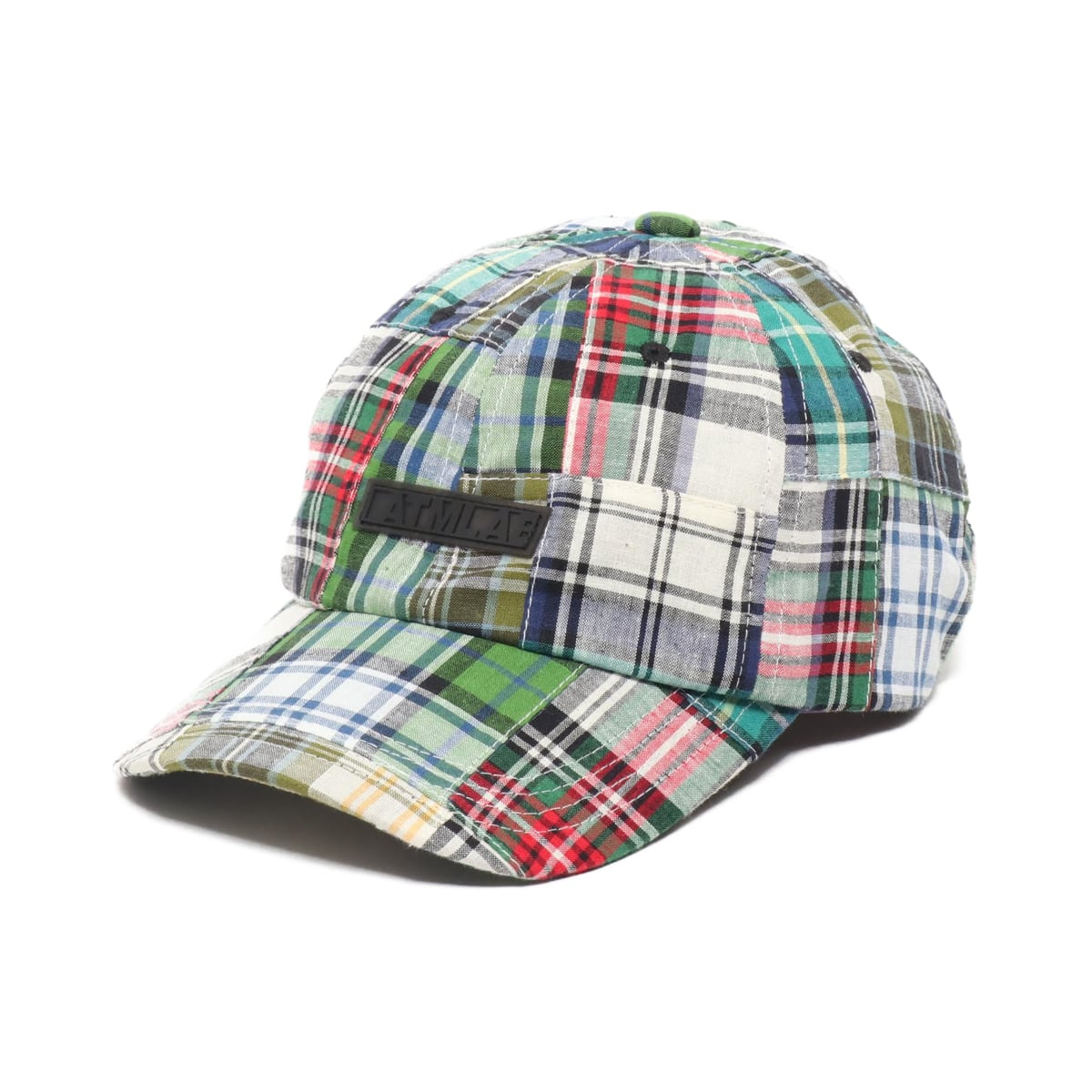 ATMOS LAB PATCHWORK 6 PANEL CAP GREEN 19SP-I_photo_large