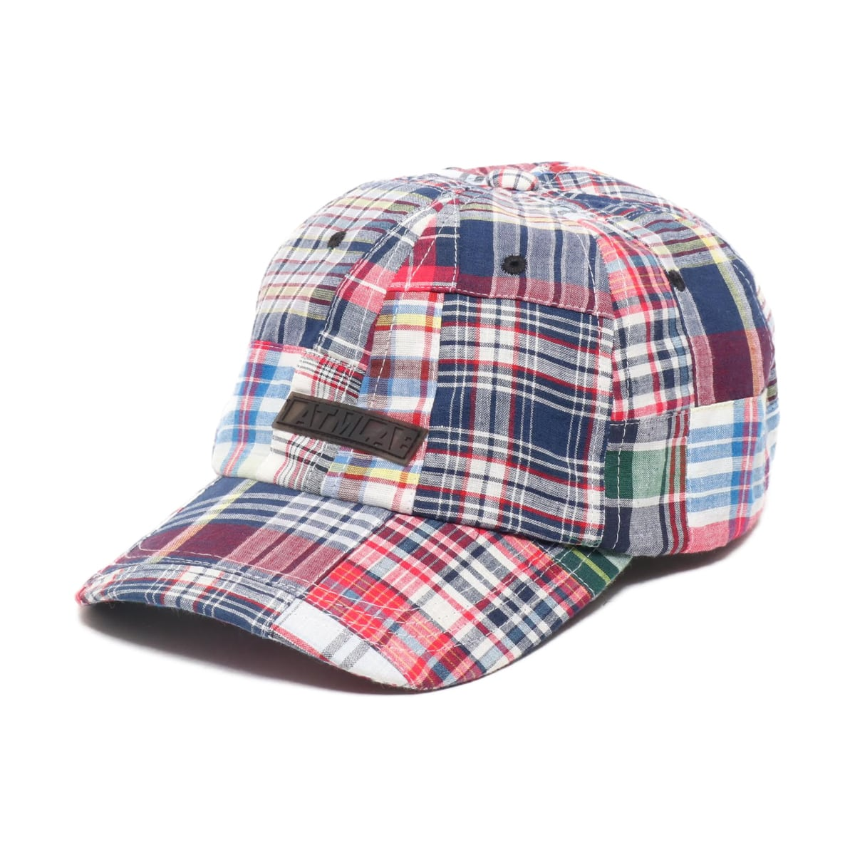 ATMOS LAB PATCHWORK 6 PANEL CAP NAVY 19SP-I_photo_large