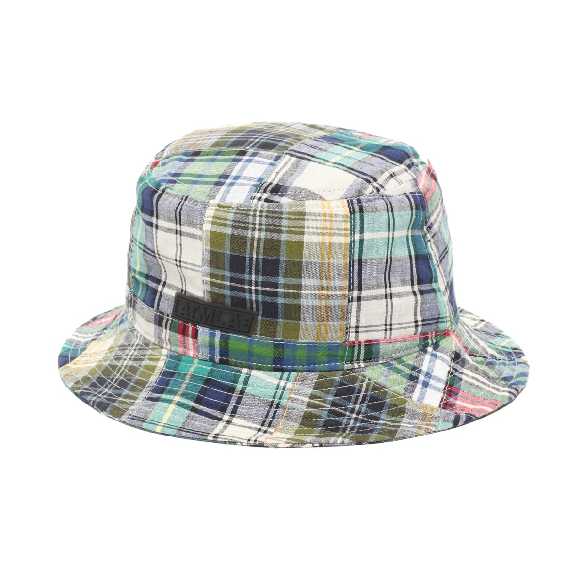 ATMOS LAB PATCHWORK BUCKET HAT GREEN 19SP-I_photo_large