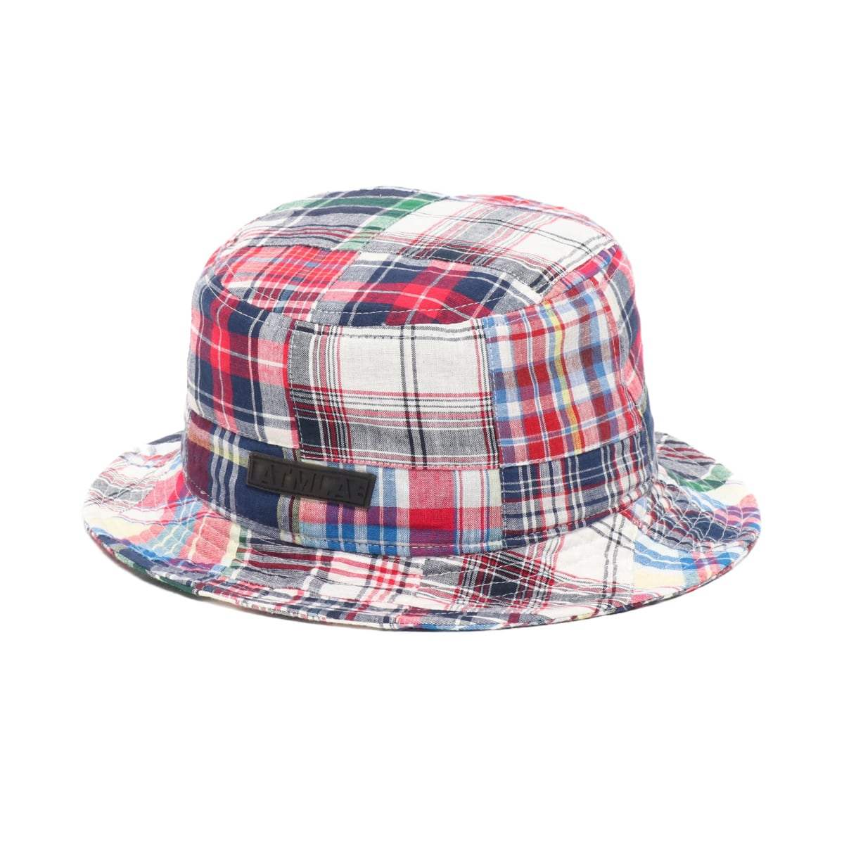 ATMOS LAB PATCHWORK BUCKET HAT NAVY 19SP-I_photo_large
