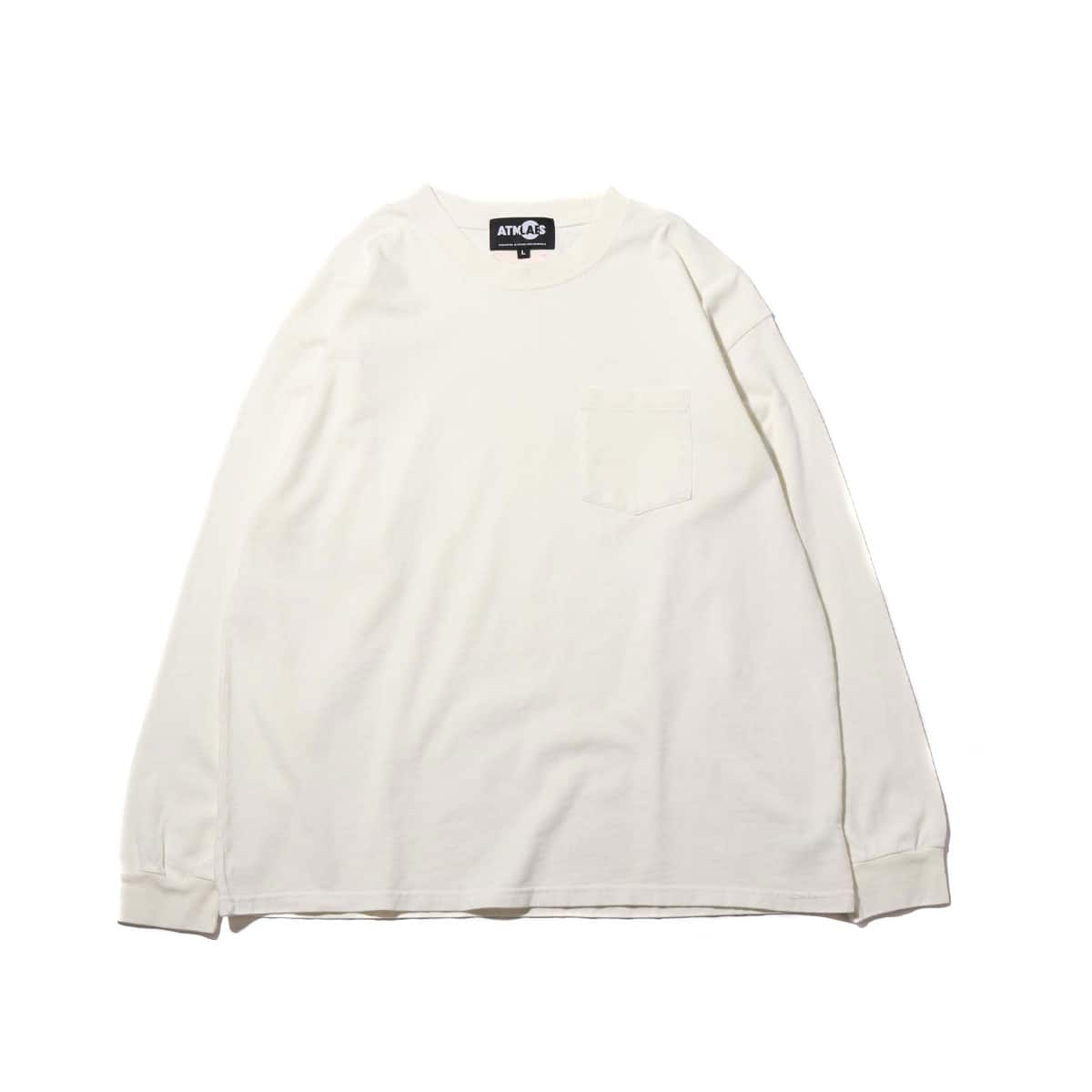 ATMOS LAB OVERDYED BIG LS TEE OFFWHITE 19SS-I_photo_large