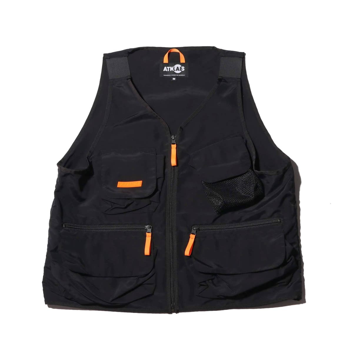 ATMOS LAB FISHING VEST BLACK 19SP-I_photo_large