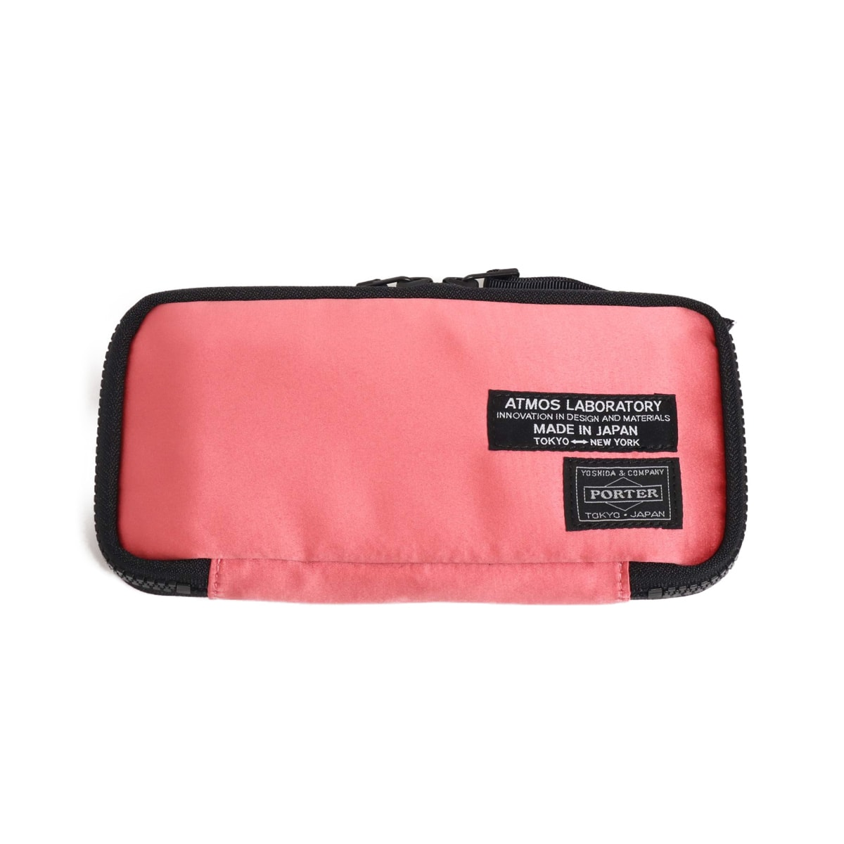 PORTER x ATMOS LAB SATIN WALLET L PINK 19SU-S_photo_large