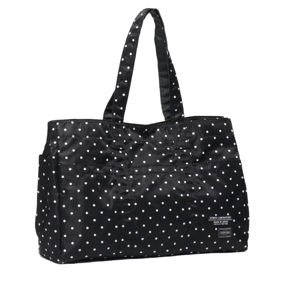 PORTER x ATMOS LAB DOT TOTE L BLACK 19SU-S_photo_large