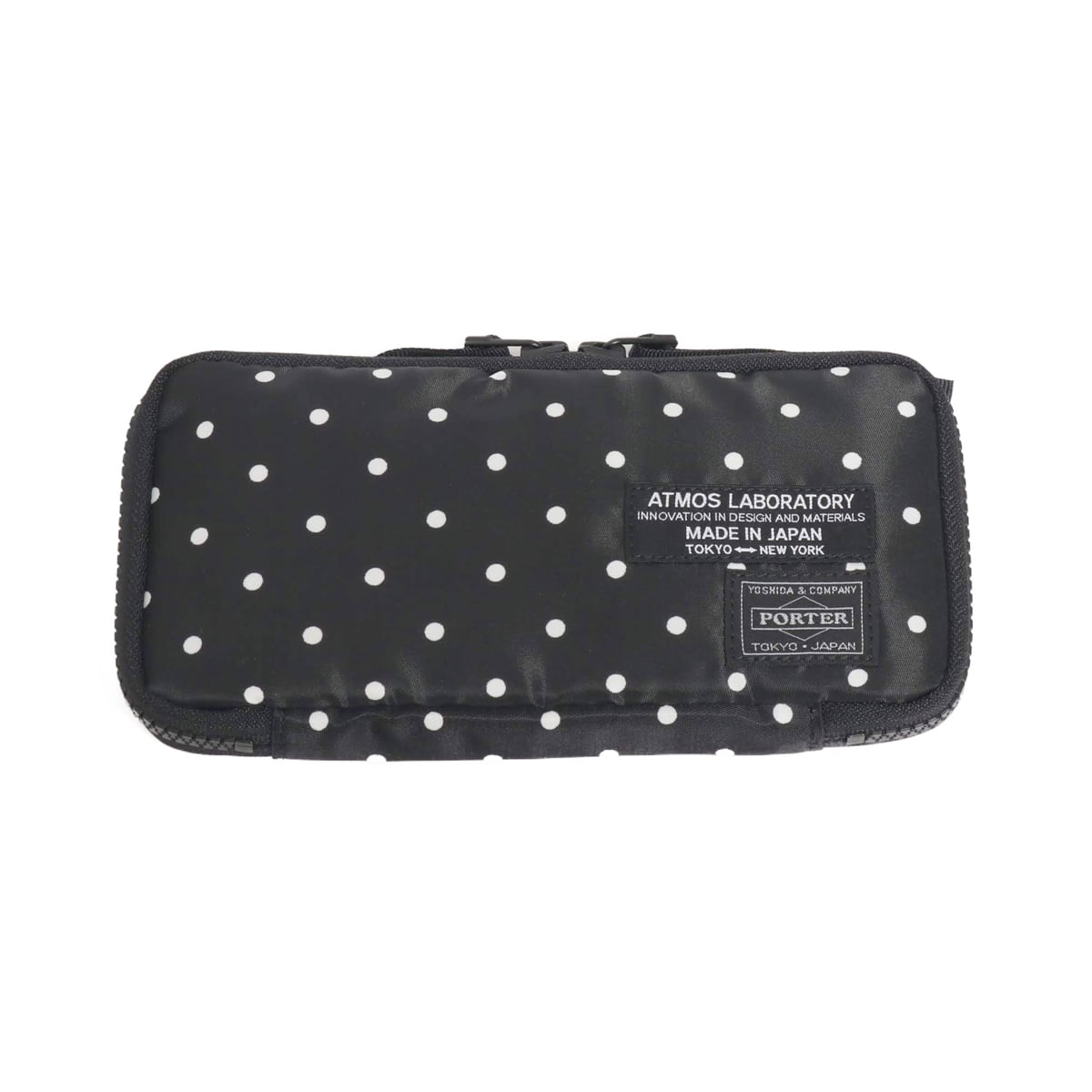 PORTER x ATMOS LAB DOT WALLET L BLACK 19SU-S_photo_large