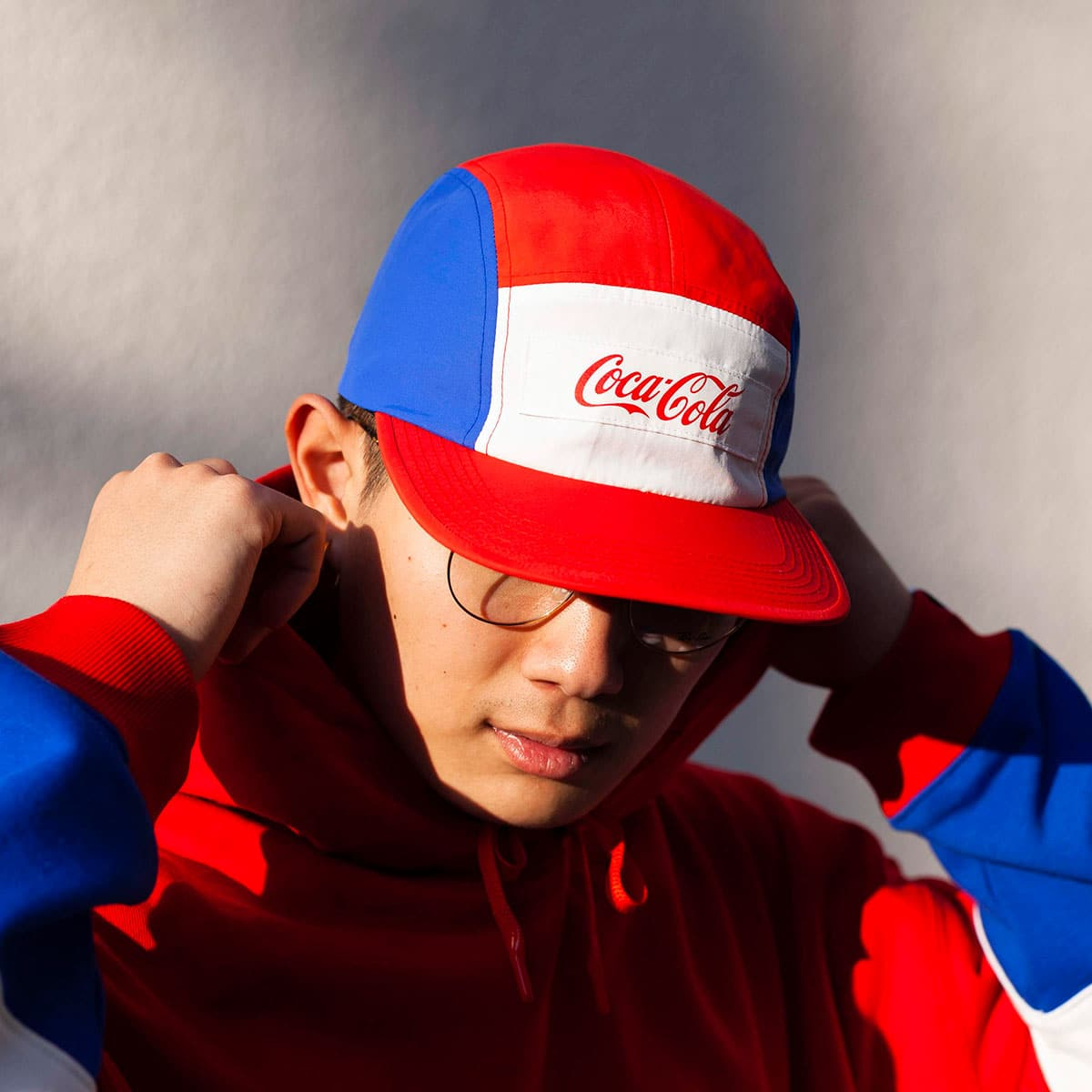 COCA-COLA BY ATMOS LAB PANEL CAMP CAP RED 20SP-S_photo_large