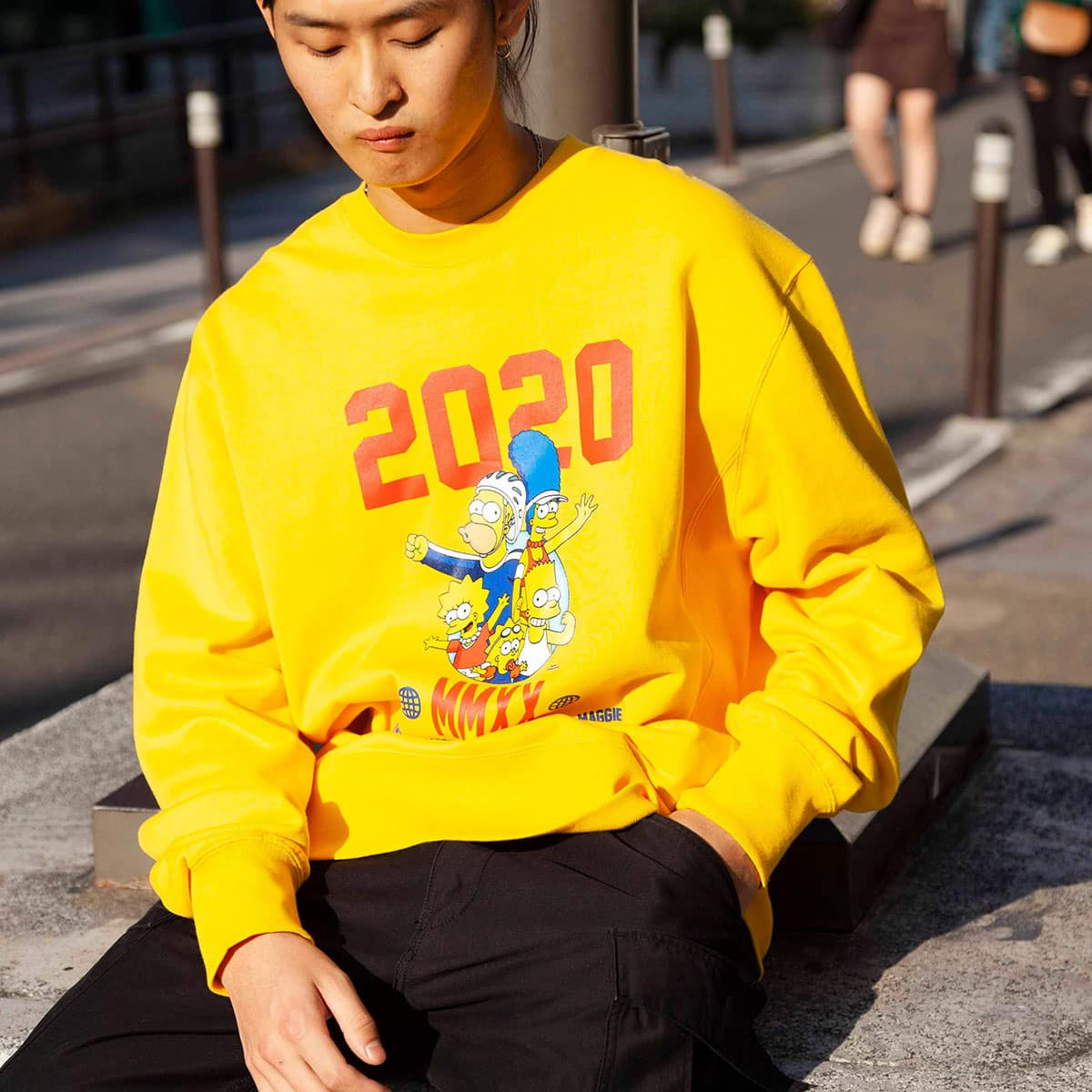 ATMOS LAB x THE SIMPSONS 2020 FAMILY CREW YELLOW 20SP-S_photo_large