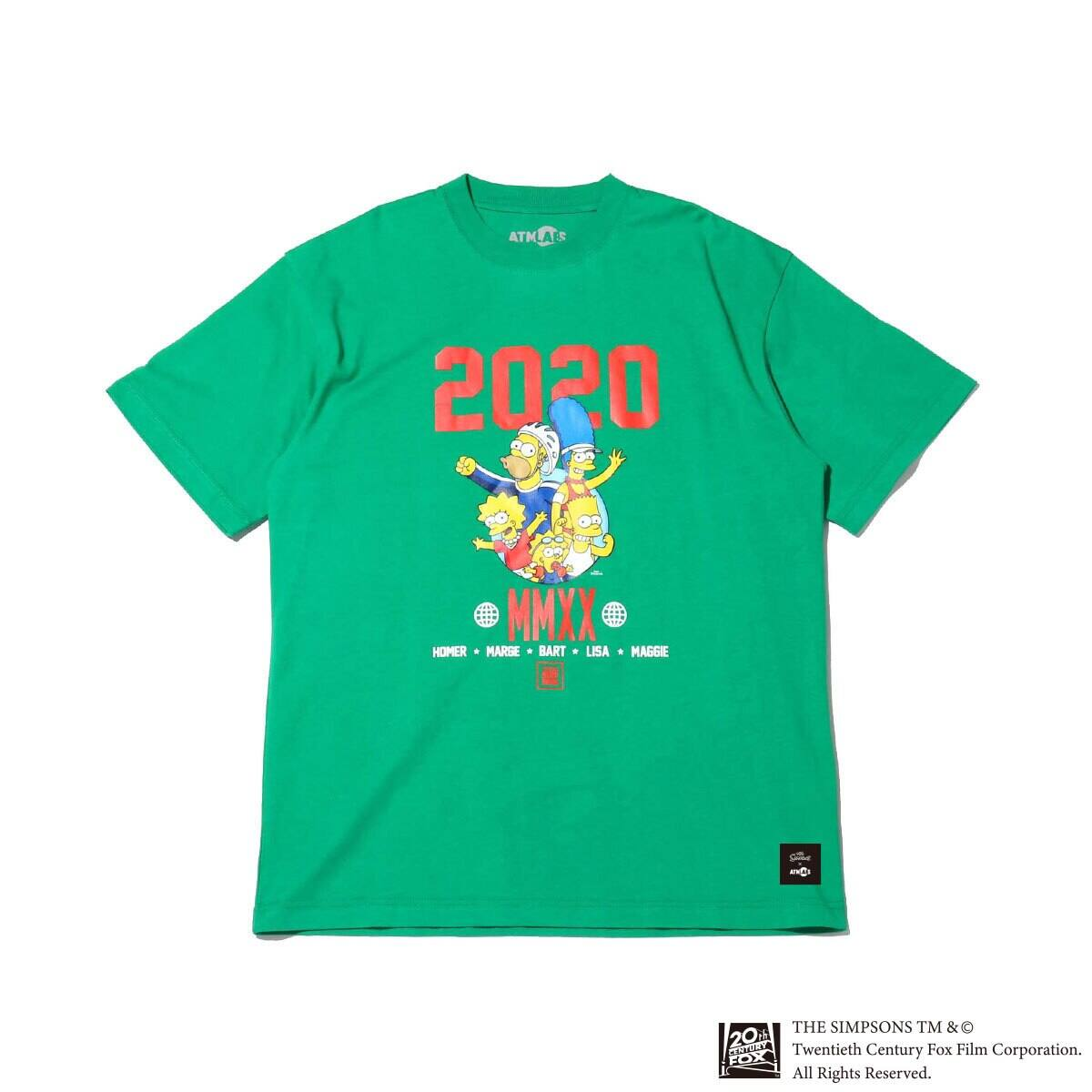 ATMOS LAB x THE SIMPSONS 2020 FAMILY TEE KELLY 20SP-S_photo_large