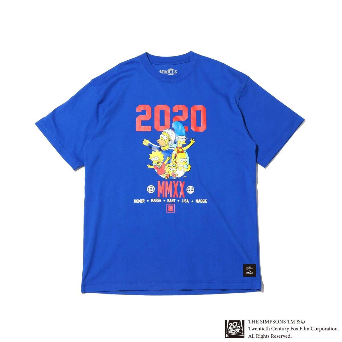 ATMOS LAB x THE SIMPSONS 2020 FAMILY TEE ROYAL 20SP-S_photo_large