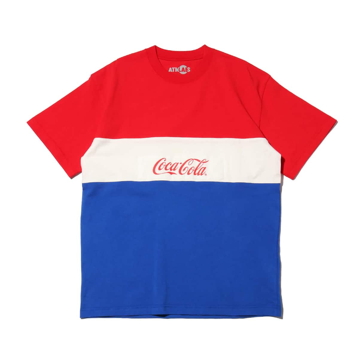 ATMOS LAB x COCA-COLA PANEL BORDER TEE RED 20SP-S_photo_large